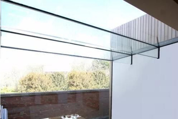 Frameless Glass Roofs