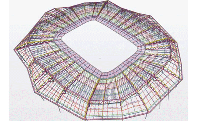 Stadiums designed with Tekla Structures