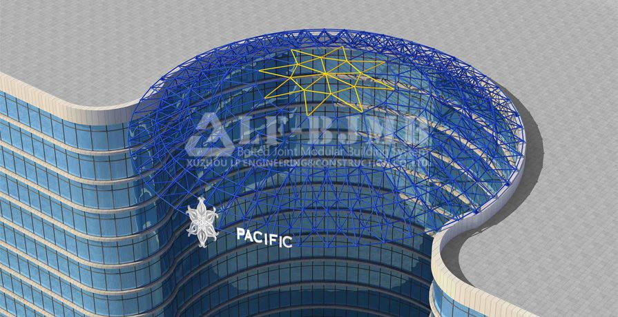 PACIFIC STAR SPACE FRAME DOME ROOF